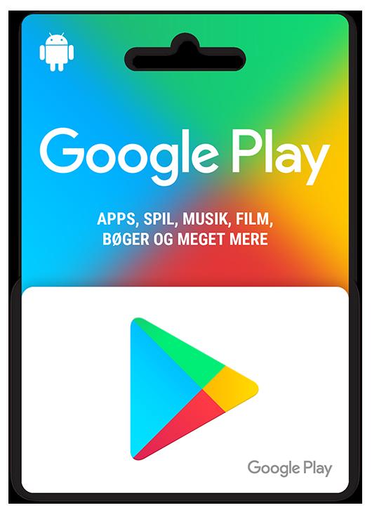 Gavekort til Google Play