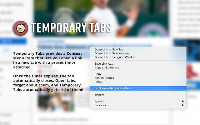 Temporary Tabs