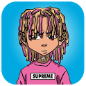 Lil Pump lock screen Wallpapers icon