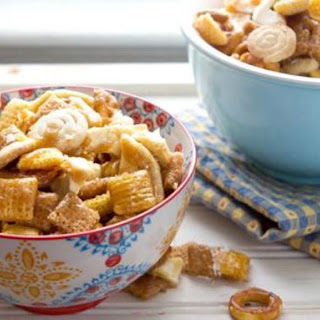 Salted Caramel Apple Chex Mix™.