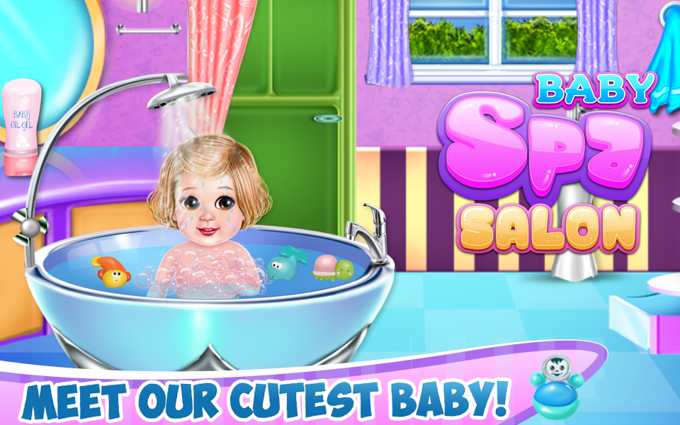 Baby Spa Salon- screenshot