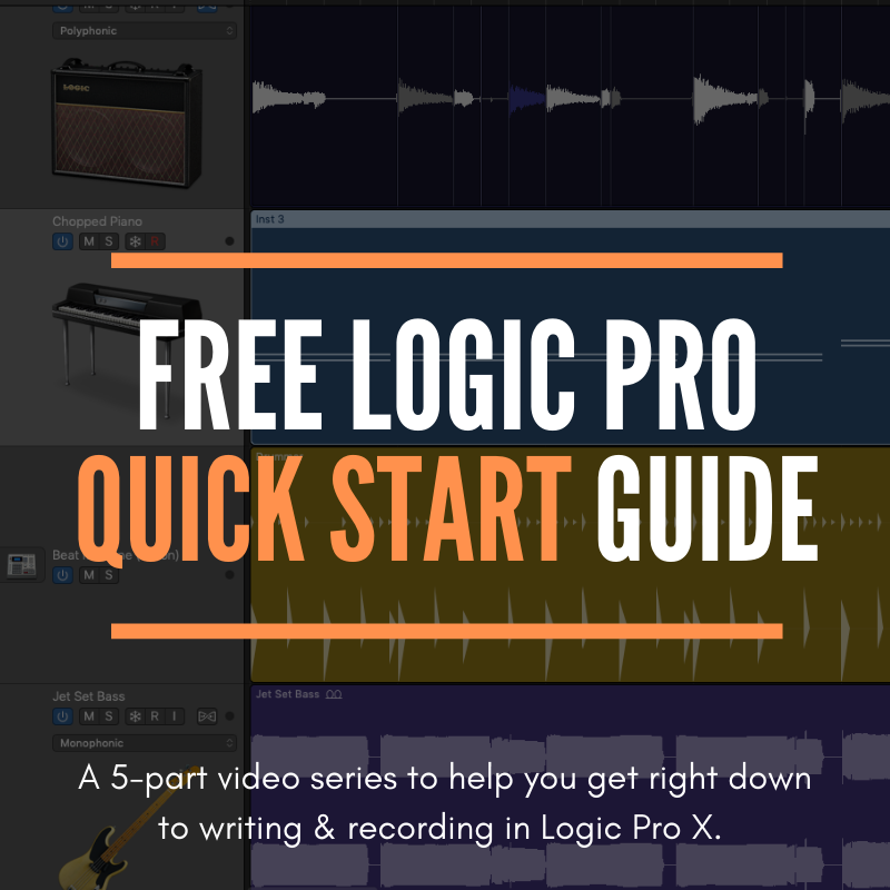 Free Logic Pro X Quick Start Guide