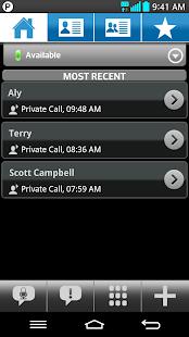 Bell Push-to-talk - screenshot thumbnail