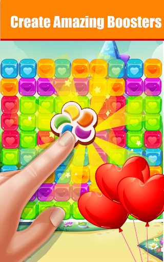 Toons Toy Blast Crush puzzles-pop the cubes  screenshots 2