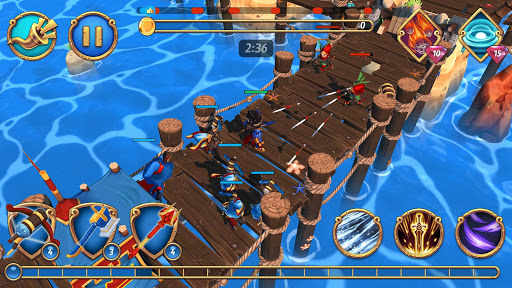 Royal Revolt 2: Tower Defense RTS & Castle Builder screenshots 8