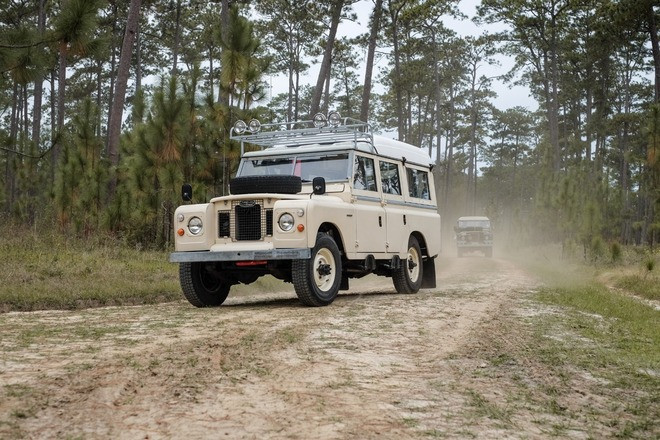 1969 Land Rover Series 2A Dormobile Hire Hatboro