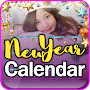 New Year 2019 Calendar Photo Editor APK icon