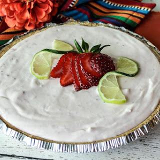 Frosty Strawberry Margarita Dessert.