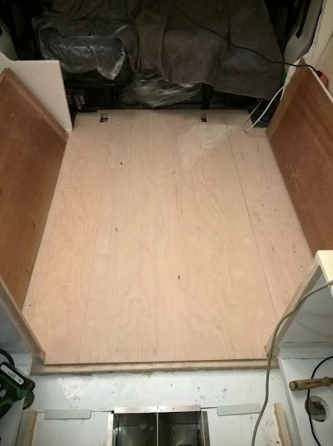 Boden im Sitzbereich