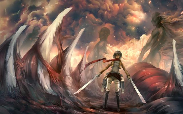 Mikasa Ackerman Attack On Titan 2 Attack On T