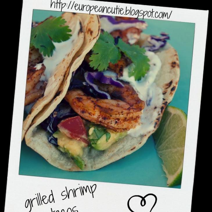 Grilled Shrmp Tacos ♥ Recipe