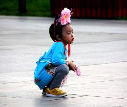 Photo: Day 188 - Girl with Peonie Headband, Beijing (China)