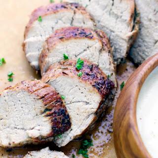 Easy Roasted Pork Tenderloin.