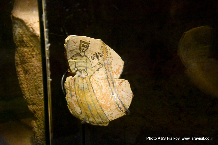 Археологические находки в подземном городе крестоносцев Акко. Экскурсовод Светлана Фиалкова.