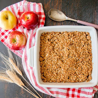 Easy Apple Crumble.