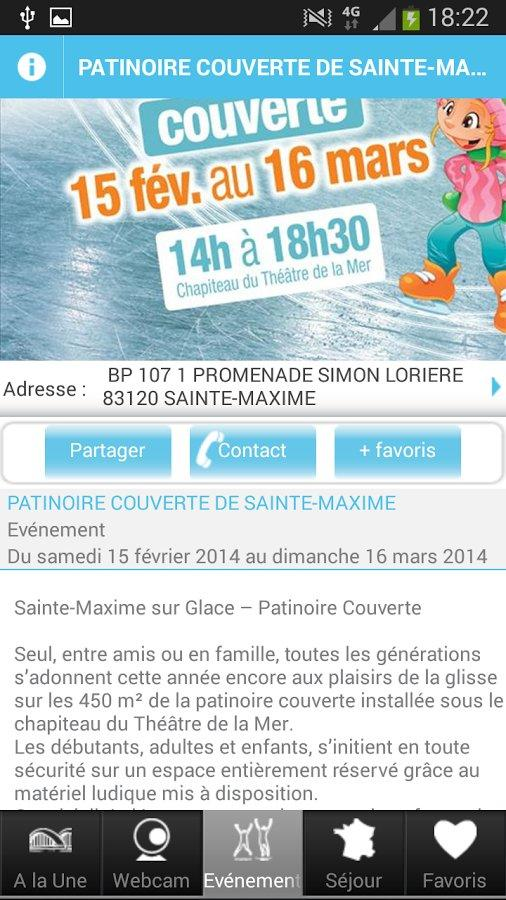 Sainte-Maxime- screenshot