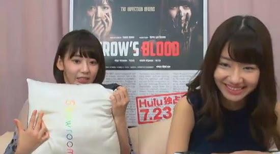 (Web)(360p) SHOWROOM ゆきりん&咲良とCROW'S BLOOD鑑賞 160829