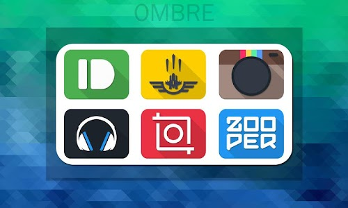 Ombre - Icon Pack v1.0.1