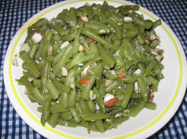 Almond And Garlic Green Beans Recipe