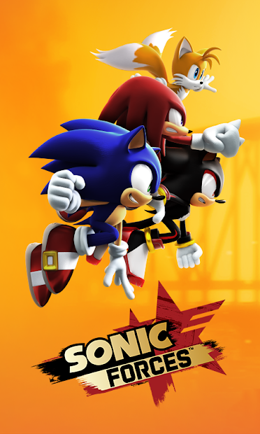 Sonic Forces Android App Screenshot