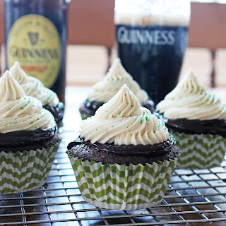 Irish Car Bomb Cupcakes.