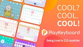screenshot of PlayKeyboard - Create a Theme, Emojis, Shortcuts