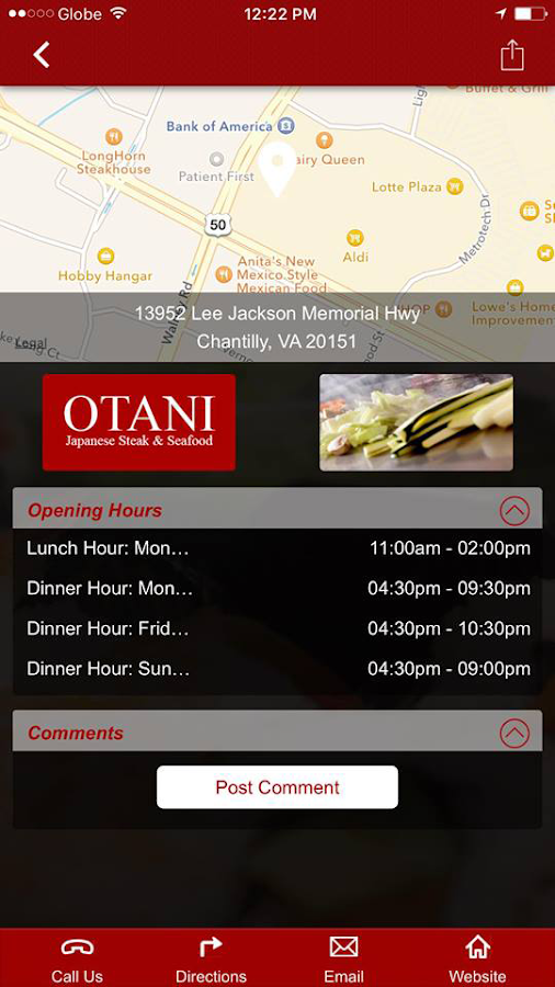 Otani Japanese Steak & Seafood- screenshot