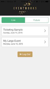 EventWorks - náhled