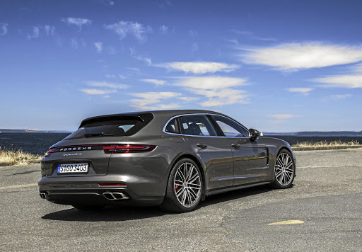 The rear design makes it the best looking of the Panamera range. Picture: PORSCHE