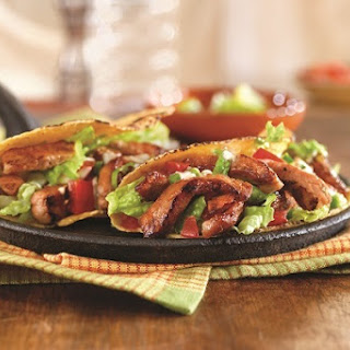 Sweet and Spicy Pork Tacos.