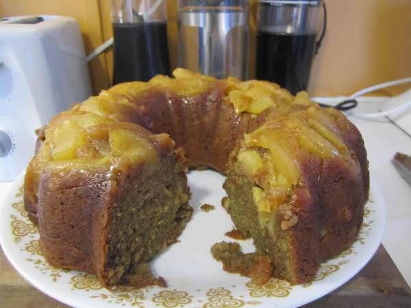Persimmon Apple Cake