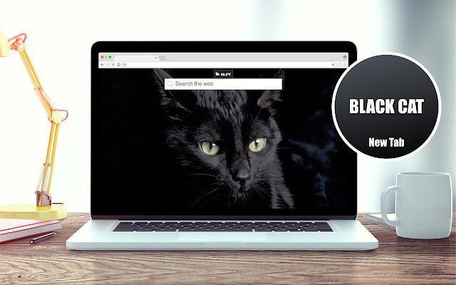 *NEW* HD Black Cat Wallpapers New Tab Theme
