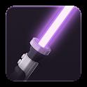 Rey Star Wars Saber Widget 8 icon