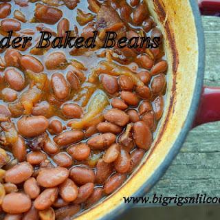 Cider Baked Beans