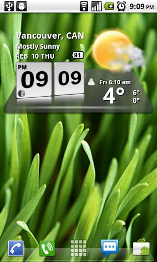 3D Digital Weather Clock screenshot 2