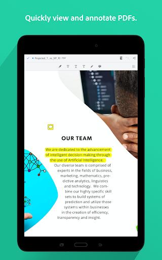 Adobe Acrobat Reader: PDF Viewer, Editor & Creator screenshot 10