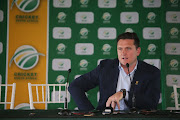 Graeme Smith during the CSA media briefing at Newlands Cricket Ground.