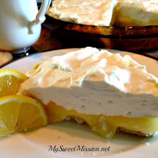 Lemon Supreme Shortbread Pie