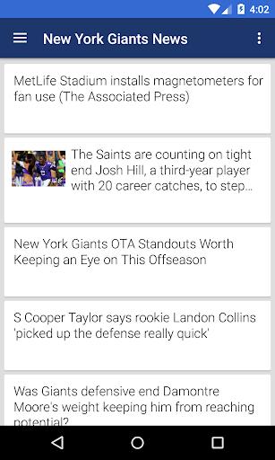 BIG NYG Football ニュース