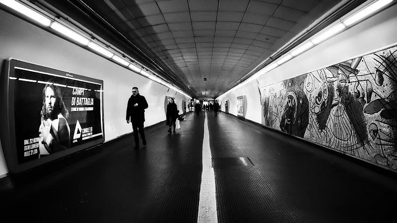 in metro di Donatella Brusca