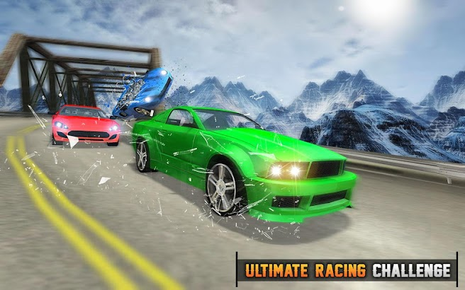 Road Car Racing 3D- screenshot thumbnail