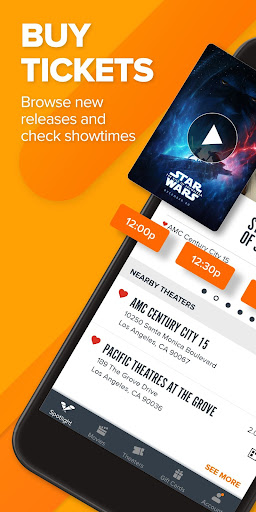 Fandango Movie Tickets & Times screenshot 1