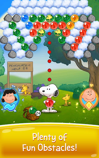 Snoopy Pop - Free Match, Blast & Pop Bubble Game  mod screenshots 2