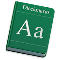 Dictionary of spanish language icon
