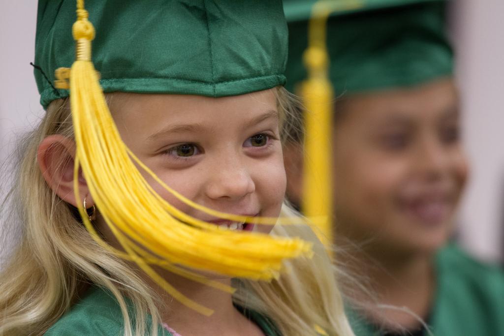 ... Kindergarten Graduation ...