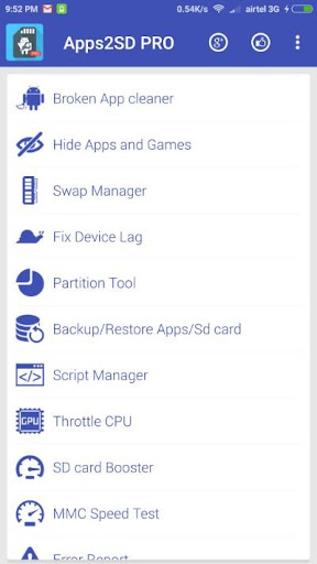 app2sd pro: all in one tool [root] screenshot 2