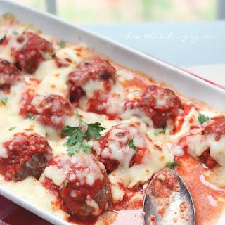 Low Carb Lasagna Meatballs Recipe