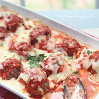 Low Carb Lasagna Meatballs.