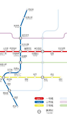 石家庄地铁路线图