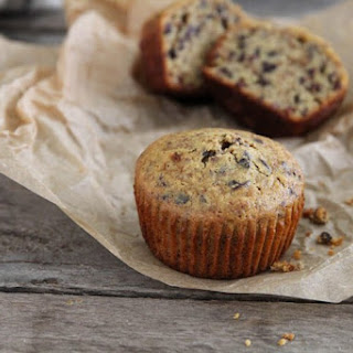 Paleo Muffins with Almond Meal & Cacao Nibs.